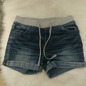 Justice Bottoms - Justice Denim Shorts- Size 12
